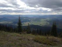 Mountain View escénico hermoso en Kamloops fotografía de archivo