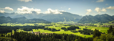 Mountain view europe Royalty Free Stock Photography