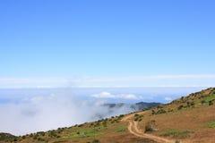 Mountain View fantastico in Madera Immagine Stock