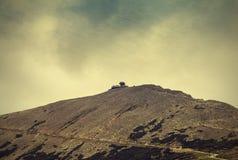 Mountain View, fondo texturizado vintage de la naturaleza Fotografía de archivo libre de regalías