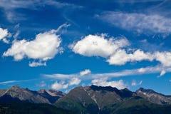 Mountain View hermoso en verano Imagen de archivo libre de regalías