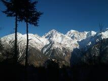 Mountain view. Best Mountain snow view Stock Photo