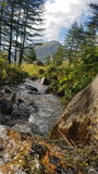 Mountain View imponentes Imagen de archivo