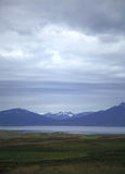 Mountain View Islândia Foto de Stock