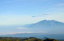 Mountain view, Java, Indonesia Stock Images