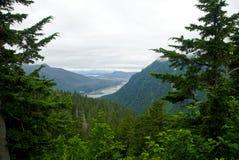 Mountain View Juneau-Alaska Stockfotos
