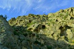 Mountain View, Kadamzhai, Kirghizistan Photographie stock