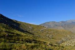 Mountain View, Kadamzhai, Kirghizistan Images stock