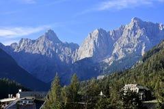 Kranjska Gora in Slovenia Stock Images