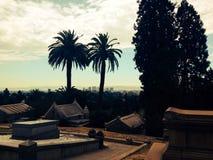 Mountain View kyrkogård Arkivfoton