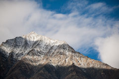 Mountain view of leh ladakh india Royalty Free Stock Photo
