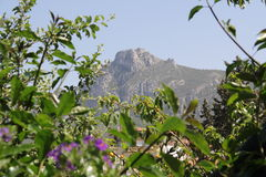 MOUNTAIN VIEW LOCATED IN CYPRUS Stock Photo