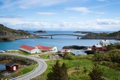 Mountain View - Lofoten Islands, Norway Stock Photos