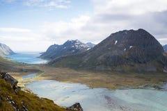 Mountain View - Lofoten Islands, Norway Royalty Free Stock Images