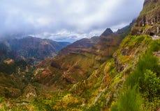 Mountain view - Madeira Portugal Stock Photo