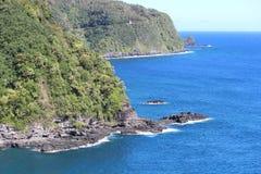 Mountain View from Maui Hawaii. On the Road to Hana Stock Photo