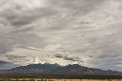 Mountain View in Monsoon Season Stock Photography