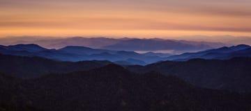 Mountain View during Morning Stock Image