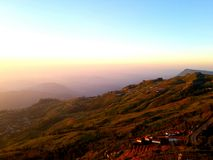 Mountain view Royalty Free Stock Photos