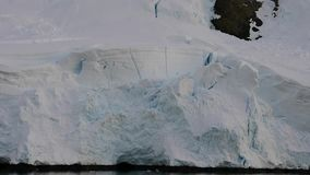Mountain View na Antártica vídeos de arquivo