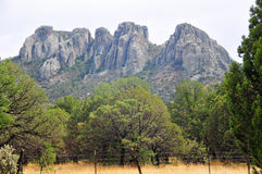 Mountain View na escala aberta Imagem de Stock