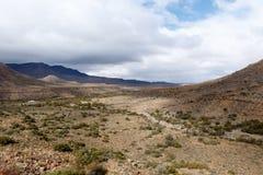 Mountain View na paisagem de Fraserburg Foto de Stock