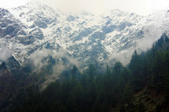 Mountain view Naran Stock Photo