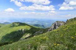 Mountain view in National park Mala Fatra Stock Images