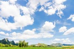 Mountain View naturale Immagini Stock Libere da Diritti