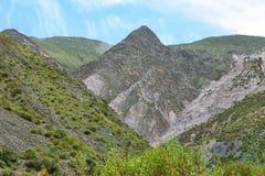 Mountain view near Iruya, Argentina Royalty Free Stock Photo