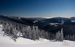 Mountain View nevoso salvaje Imagen de archivo