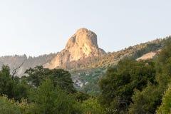 Mountain View no parque nacional de sequoia foto de stock