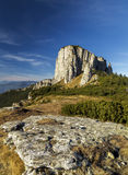 Mountain view of Ocolasul Mare.Ceahlau Mountain in Romania Stock Photos