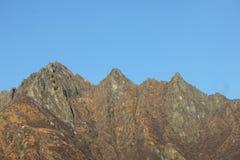 Mountain View panoramici Immagini Stock