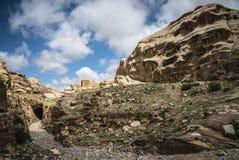 Mountain View Petra Джордана Стоковые Изображения RF