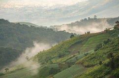 Mountain View a Phu Thap Boek Fotografia Stock Libera da Diritti