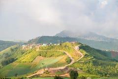 Mountain View a Phu Thap Boek, Tailandia Fotografia Stock Libera da Diritti