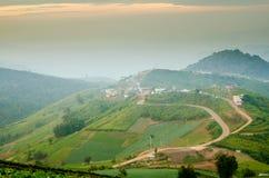Mountain View a Phu Thap Boek, Tailandia Fotografie Stock