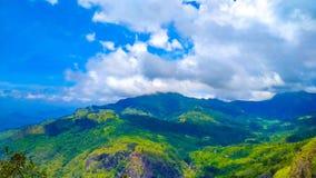 Mountain View piacevole della Sri Lanka della roccia di Ella fotografia stock libera da diritti