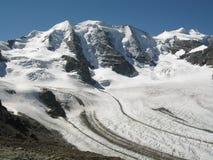 Mountain View - Piz Palü Royalty-vrije Stock Fotografie