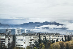 Mountain View Podgorica Imagem de Stock Royalty Free