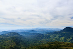 Mountain view. View point at khao kor thailand Stock Photo