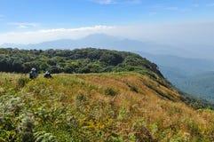 Mountain view point Stock Image