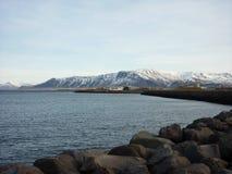 Mountain View, Reykjavic Image libre de droits