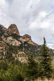 Mountain View rocciosi della foresta nazionale di San isabel in colorado Immagine Stock