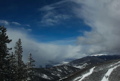 Mountain View roccioso Fotografia Stock
