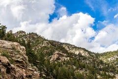 Mountain View rocosos del bosque del Estado de San Isabel en Colorado Fotos de archivo libres de regalías