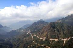 Mountain view. At Sapa Vietnam Stock Photos