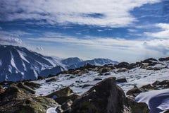 Mountain view Gulmarg Royalty Free Stock Photos