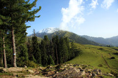 Mountain view shogran Stock Photography